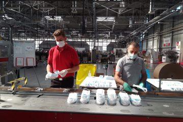 Sitma Machinery confeziona mascherine sostenibili per il Covid-19