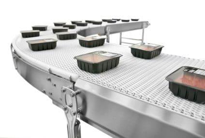 Nastri trasportatori igienici FlexLink per la produzione alimentare