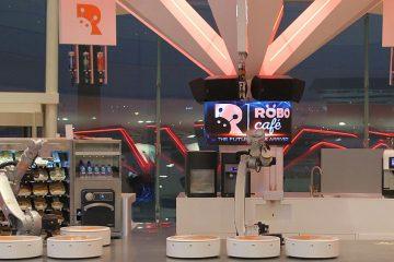 Il RoboCafè di Dubai: ospitalità digitale con KR CYBERTECH by KUKA