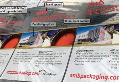 Stampa water based per packaging alimentare flessibile o rigido